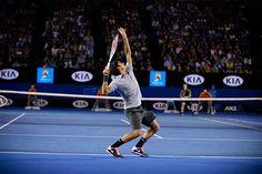 Roger Federer Jan.25,2013