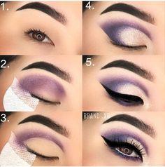Ideas for eye makeup # makeup # eyeshadow # eyeliner ma - make_up_pintennium Eye Makeup Steps, Simple Eye Makeup, Smokey Eye Makeup, Eyeshadow Makeup, Makeup Tips, Hair Makeup, Eyeshadow Ideas, Makeup Mascara, Beauty Makeup