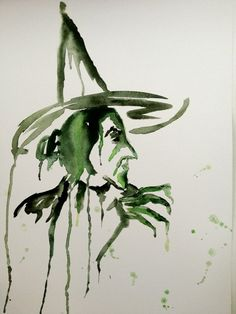 Wicked Witch of the West Poster from Watercolor