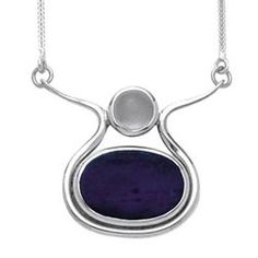 Isis Collier, Lapis & Moonstone Necklace