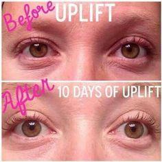 Uplift Eye serum looks AMAZING!!! www.sparkleyourlashes.com