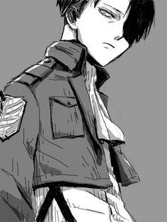 Shingeki no Kyojin (Attack on Titan) - Levi