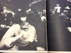 Haruki Murakami at his jazz bar Peter Cat, 1979