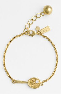 Totally want this - Kate Spade match point tennis bracelet