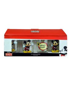 Look at this Mickey Mouse Pint Glass - Set of Four on #zulily today!
