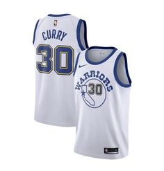 Nike Men s Golden State Warriors Stephen Curry  30 White Hardwood Classic ee2e5fdbe