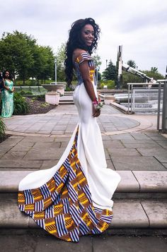 My girl Barbie absolutely SLAYYEDDD! Africans killin it this year #Prom2k16