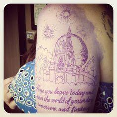 Disney world tattoo