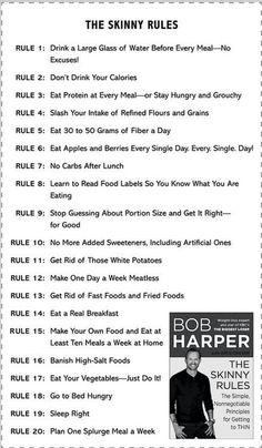 The Skinny Rules - Bob Harper workout-motivation Weight Loss Plans, Fast Weight Loss, Weight Loss Tips, Lose Weight, Reduce Weight, Lose Fat, Water Weight, The Biggest Loser, Skinny Rules