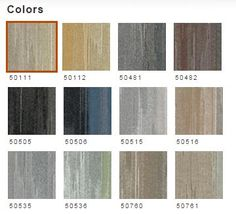 Color Palette for Uncover Tile Shaw Contract, Luxury Vinyl Tile, Vinyl Tiles, Carpet