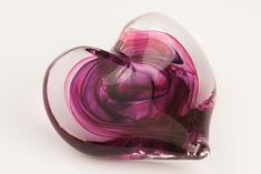 Heart Paperweight by David Clancy: Art Glass Paperweight available at www.artfulhome.com