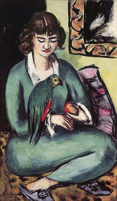 'Quappi mit Papagei', 1936 - Max Beckmann en Berlín -