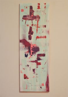 Reinvented  Original Painting Artwork Home by TheHeartandtheHand