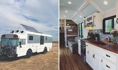School Bus Conversion Transforms the Vehicle into Spacious Tiny Home