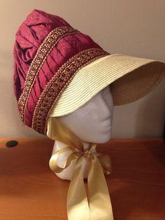 Silk Regency Bonnet