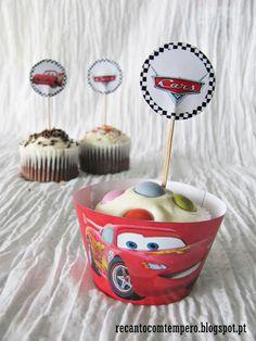 Cupcakes de chocolate {com cream cheese}