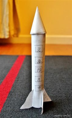 Very simple space craft: paper space shuttle