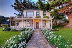 The Farmhouse - Mission Ranch Carmel, CA by Axe.Man, via Flickr