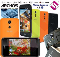 SMARTPHONE TELEFONO MOVIL LIBRE ARCHOS 45 NEON PANTALLA 5  IPS QUAD CORE 1,3G