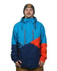2b8697fece 686 Authentic Arcade Insulated Jacket - Blue