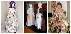 Colonial Fashion exhibit at Historic Odessa Foundation