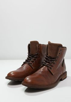 Zign Lace-up boots - cognac for £48.74 (25/11/16) with free delivery at Zalando