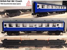 Lego BR Mk 1 Coach WIP Underframe by michaelgale, via Flickr