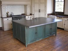 Would love this in copper with surrounding counters out of butcher block