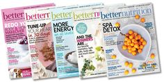 Publicity Opportunity: Better Nutrition Magazine - Motto: Your guide to natural living. Better Nutrition is a monthly health, food, weight loss, and n - Nutrition Club, Nutrition Chart, Health And Nutrition, How To Cure Depression, Diet Books, Holistic Nutrition, Internet, Weight Loss Inspiration, How To Better Yourself