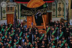 Atmosphere öf the shrine of MAULA A.S ON THE MARTYRDOM OF IMAM Sajjad ( A.S ) #Safar #ayameazaa #Twelver #AhleBayt
