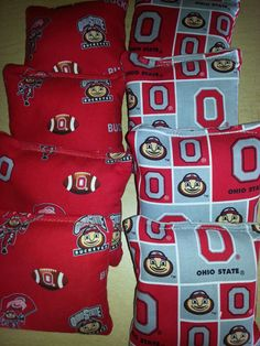 Outdoor Sports Obliging Chicago Bears Set Of 8 Cornhole Bean Bags Free Shipping