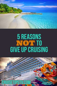 Have recent events caused you to think about giving upon cruise travel? Misinformation, fear tactics, and cruise industry haters love to make you feel like you should give up on cruising. Here are 5 reasons why we won't give up cruising. Packing List For Cruise, Cruise Tips, Cruise Travel, Cruise Vacation, Cruise Destinations, Recent Events, Family Camping, Giving Up, Sailing