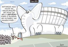 Os Elefantes Brancos da Copa de 2014