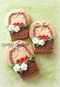 Strawberries! 『アイシングクッキーのオーダー③★リングのクッキー』