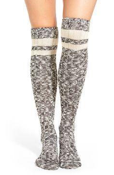 Main Image - Treasure&Bond Slub Knit Marled Over The Knee Socks