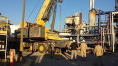 Oil Rig, Industry, Refinery, Rig, Refine, Construction