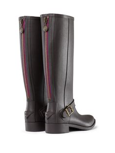 LOVE! Just had to get these....Damn pinterest has made my shopping addiction worse!...Belsize Mercer Riding Boots   Hunter Boot Ltd