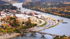 Branson, Missouri | Holiday magic for all. Skip the crowded cities, and spend your Christmas in one of the South's charming small towns. You won't regret it. Take a drive to these sweet small towns, and you'll be in for a holiday filled with some of the season's best—as well as the most festive the South has to offer. Also, these Southern small towns have some of the mildest weather in the country during the Christmas season, which is such a pleasure.