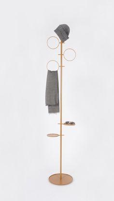 Glaubi minimal coat hanger by Diiis Minimalist Bed, Minimalist Furniture, Hanger Stand, Colani, Multipurpose Furniture, Store Layout, Hallway Furniture, Vintage Industrial Furniture, Ideias Diy