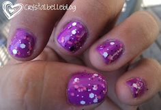 Pink Panther layered over Orly's Frolic