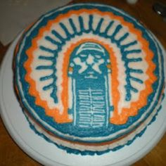 Illini cake-the boys will freak when they see this!