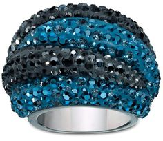 Swarovski Apollon Blue ring