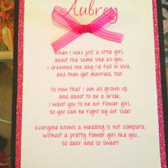 goddaughter flower girl invitation vintage girl with basket of