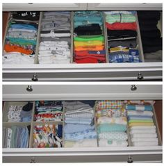 1000 ideas about organizing baby dresser on pinterest - How to organize baby room ...