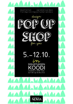 design POP UP SHOP for you - Kristina Lindqvist