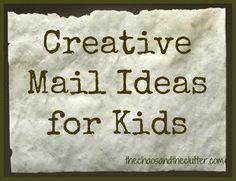 creative mail ideas