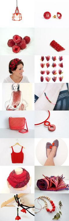 red by Yukari Nakamichi on Etsy--Pinned with TreasuryPin.com #etsyeur #treasury #red #Christmas #giftguide