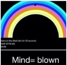 Just tried it and it works, great optical illusion.