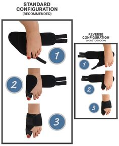 Amazon.com: Dr. Frederick's Original Nighttime Bunion Splints - 2 Double-Stitched Velcro Bunion Regulators - Bunion Relief for Bedtime - Use Before & After Surgery: Health & Personal Care