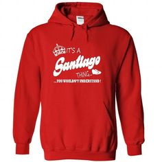 Its a Santiago thing, You Wouldnt Understand !! - #victoria secret sweatshirt #cozy sweater. PURCHASE NOW => https://www.sunfrog.com/Names/Its-a-Santiago-thing-You-Wouldnt-Understand-7759-Red-21606814-Hoodie.html?60505
